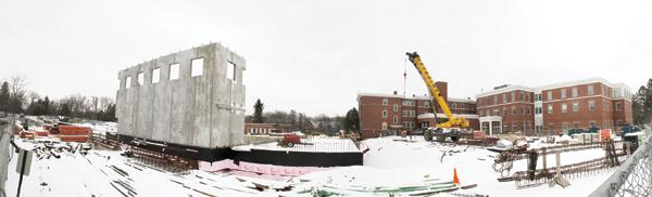 Ongoing construction at Rogers Memorial Hospital