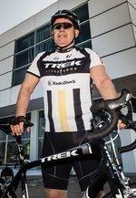 Gering on 500-day biking mission