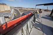 Most of the work on I-94 is around the Mitchell interchange in Milwaukee County, where PDM Bridge LLC is rebuilding the Layton Avenue bridge.  I-94's top earners The following are the top-earning firms on the Interstate 94 project. General contract amounts Walsh Construction Co. .......................	      $223,006,663 Wisconsin Constructors LLC ...................	185,444,675 Michels Corp. .........................................	39,204,249 Hoffman Construction Co. .......................	30,829,087 Zignego Co. Inc.......................................	22,161,592 Super Excavators Inc. .............................	18,906,416 Zenith Tech Inc. ......................................	12,160,595 Super Western Inc. ...................................	9,242,046 Mann Brothers Inc. ....................................	4,729,515 PDM Bridge LLC .........................................	4,279,584