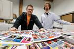 Making contacts through trading cards