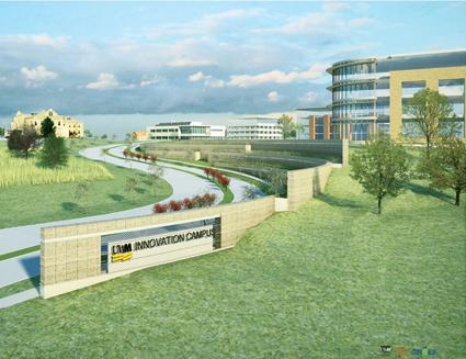 Innovation Campus rendering