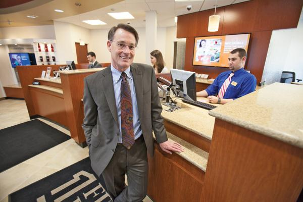 Mark Mohr, president, CEO of First Bank Financial Centre
