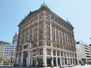 The owners of the historic Germania Building in downtown Milwaukee face a $4 million foreclosure lawsuit.