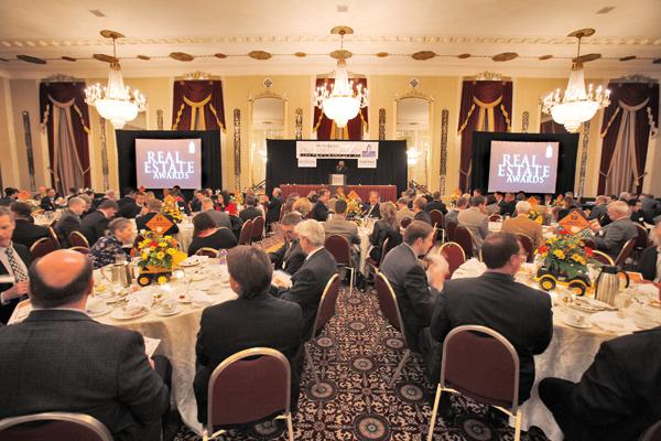 The Business Journal's 2012 Real Estate Awards luncheon was held at Hilton Milwaukee City Center.
