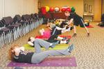 It's all-in at OS for exercise, fitness
