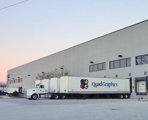Quad/Graphics Inc. has signed a lease for a 205,063-square-foot New Berlin facility.