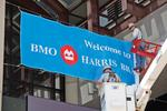 BMO Harris makes an arena-sized statement
