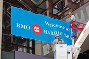 BMO Harris Bradley Center signage