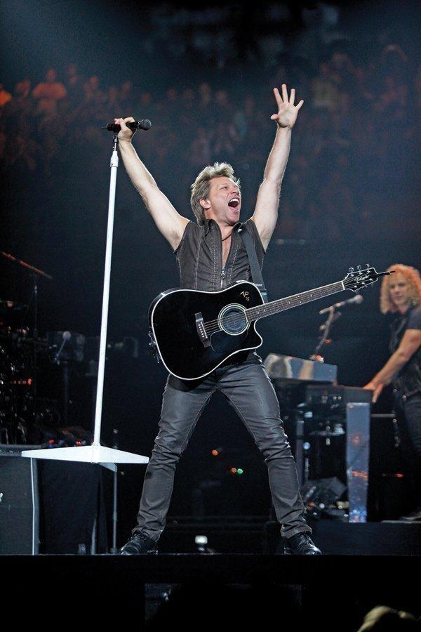 Bon Jovi performed at The Bradley Center May 21.