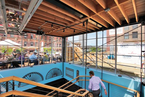 Benelux, in the 3rd Ward, is adding enhanced features to its popular rooftop patio.