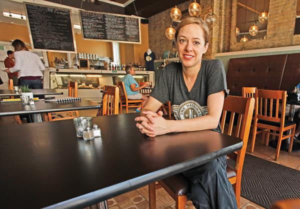 "Nell Benton...""The restaurants here, you don't feel like you're competing against them."""