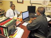 Randy Crump's business consulting firm emphasizes diversity.