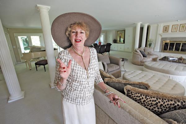 """Maureen Stapleton...""""People are beginning to realize that there's places on the water these days that are great values compared to what they used to be listed at."""""""
