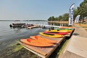 New owners enhanced Lake Lawn's watercraft rental options.