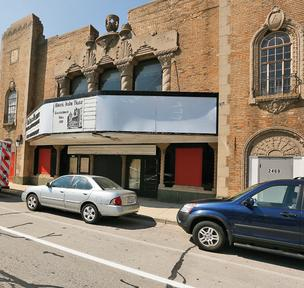 The Avalon Theatre has been closed since 2000.