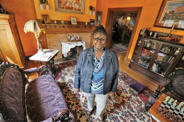 """Innkeeper and co-owner Tonja Thomas...""""Customers call this place a hidden gem."""""""