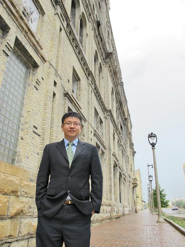 """Ying Chan ... """"Milwaukee planted a seed in China a long, long time ago, and now you are seeing the return."""""""