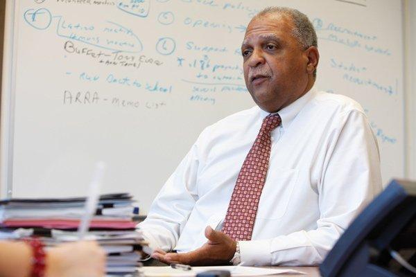 Milwaukee Public Schools superintendent Gregory Thornton