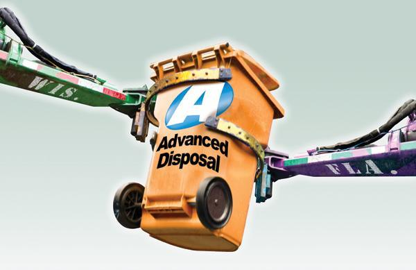 Advanced Disposal Services Inc.Headquarters: Jacksonville, Fla.CEO: Charles ApplebyFounded: 2000Employees: 5,450 employees nationwide, including those at Interstate Waste Services Inc. and Veolia ES Solid WasteAnnual revenue: $1.4 billion, including Interstate and Veolia