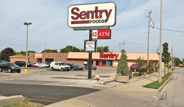 The Sentry brand is down to 22 stores, a decrease from a peak of more than 70 stores when it was owned by Fleming Cos.