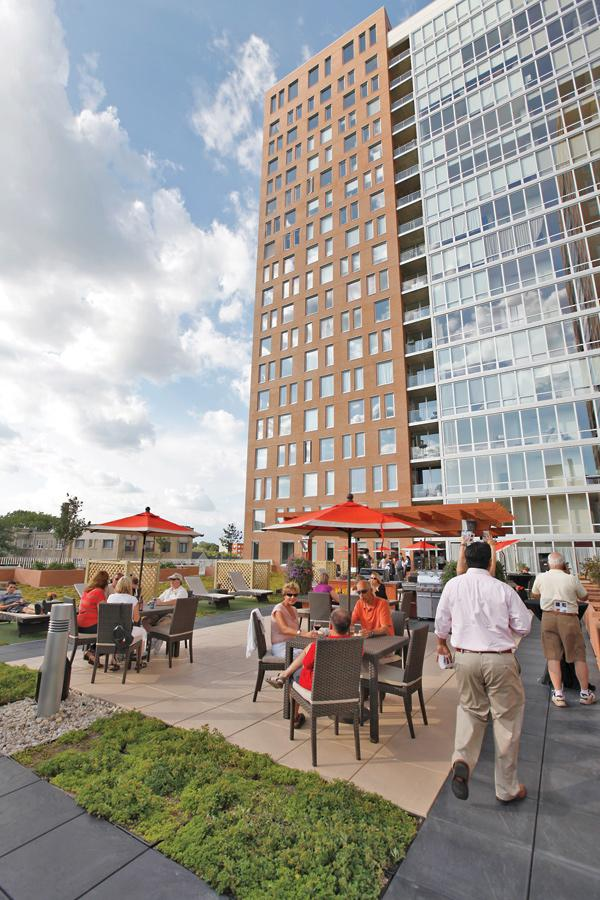 Park Lafayette was originally developed as condos, but has since been rented out as apartments.