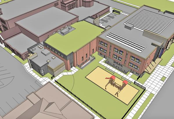 St. Marcus Lutheran School continues to expand at its campus at 2215 N. Palmer St., Milwaukee.