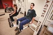 Brian Gizelar focuses mostly on machines and free weight.