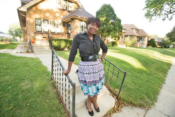 """IDA program participant Jacinta Shaw at her new home...""""It showed me that if someone else is willing to help me like that, then I can certainly help myself."""""""