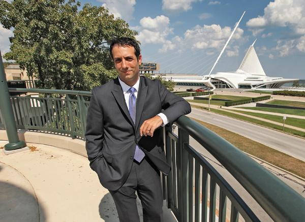 Brian Taffora has participated in county efforts to redevelop the downtown lakefront.