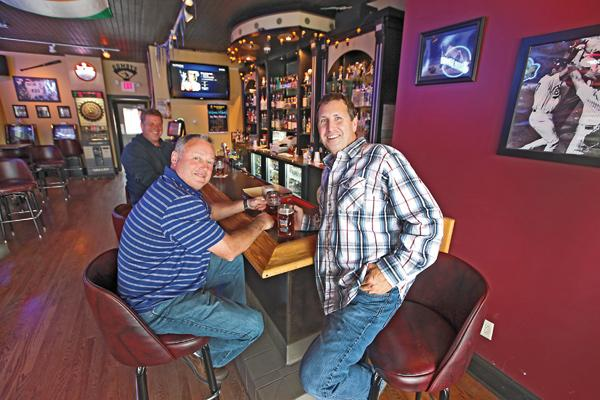 Russ Chicks (right, with Jim Gantner) is planning events for the Brewers' playoff run.
