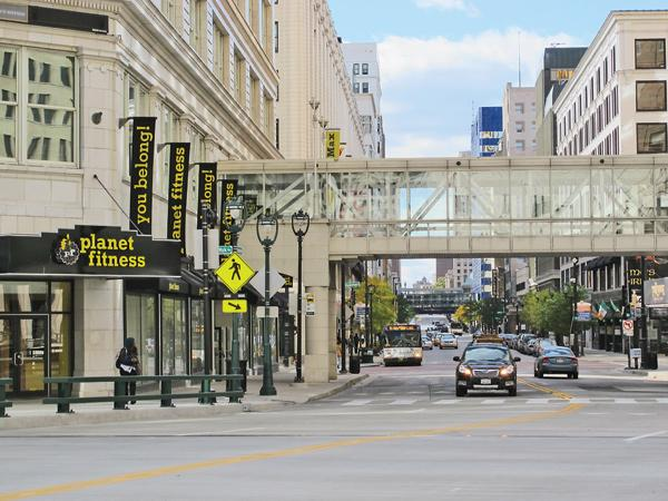 City of Milwaukee leaders are working on plans to revitalize the area of West Wisconsin Avenue near the Shops of Grand Avenue.
