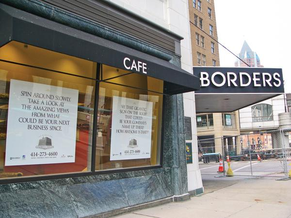 Planet Fitness is close to an agreement to lease the former Borders bookstore space in downtown Milwaukee.