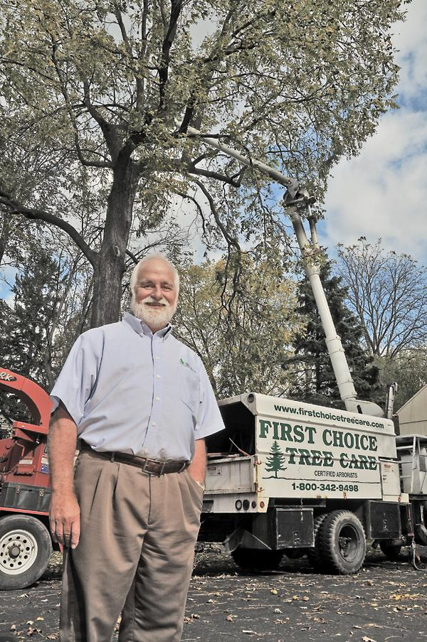 """Ken Ottman...""""There are professional tree care people and then there are people who are out of work cutting down trees."""""""