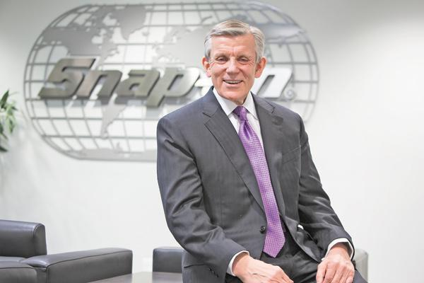 "Nick Pinchuk ...""We guarantee  our tools for life. If we don't innovate, we're dead.""Snap-on Inc.• Description: Manufacturer and marketer of professional tools, equipment, diagnostics, repair information and systems. Serves about 130 countries in industries including automotive, aviation and aerospace, oil and gas, mining and power generation.• Headquarters: Kenosha• Employees: 11,000 worldwide; 600 in Kenosha, 330 at Milwaukee manufacturing plant• Top executive: Nick Pinchuk, chairman and chief executive officer• 2011 net sales: $2.85 billion"
