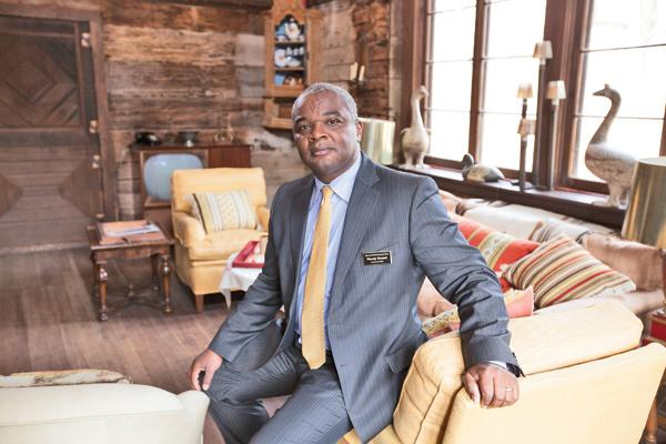 """Randy Bryant ... """"My passion, my personal ethics, my core values are all in line with Ten Chimneys."""""""