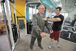 Feld shows age doesn't matter in exercise