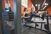 """Lisa Burns-Groff ... """"You can hop on a treadmill or hop on a bike, shoot a few hoops and re-center."""""""