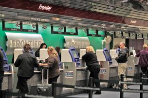 Frontier Airlines is slashing flights in Milwaukee.