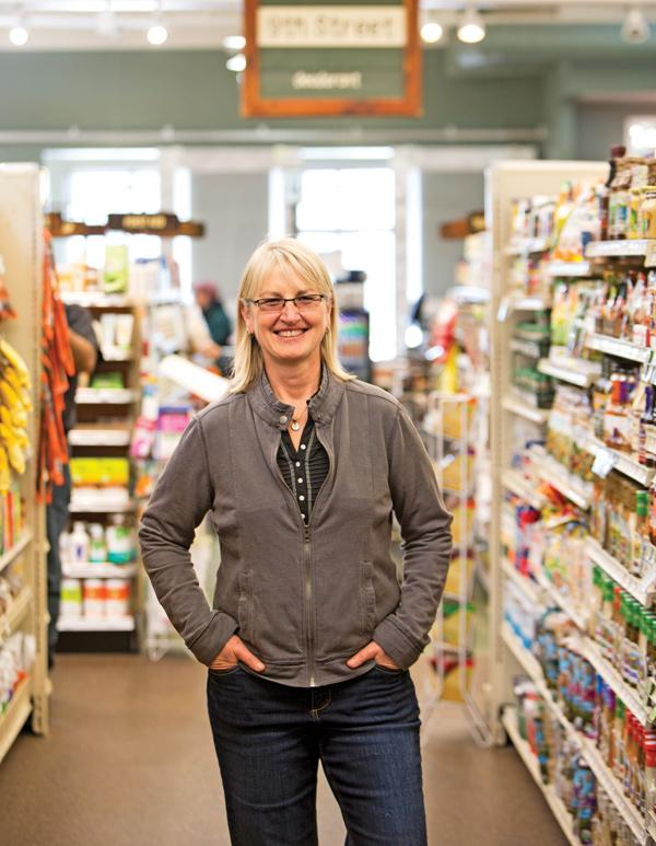 """Pam Mehnert ... """"We want to lower our miles-to-market, where that product is coming from."""""""