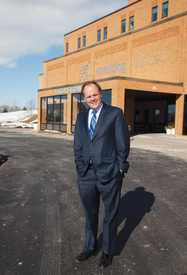 Randy Spaulding, CEO of Spaulding Clinical Research in West Bend