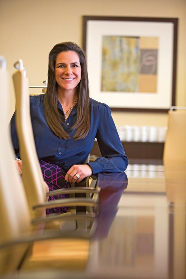 """Stephanie Chedid ... """"As a boutique firm, we can't compete against the behemoths in terms of size, but we absolutely can in terms of specialization."""""""