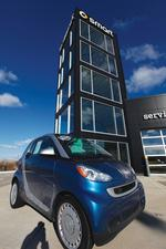 Smart car sales take big hit in recession