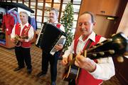 A recent cultural event at West Bend Mutual included music from the Sicilian Serenaders.