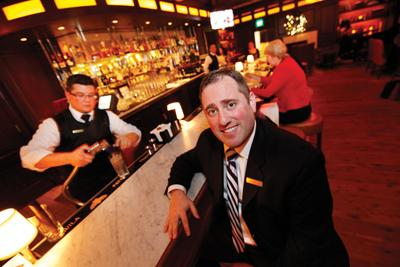 """Edward Carrella . . . """"Right now we're really focusing on our bar (and) live entertainment."""""""