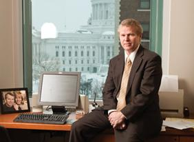 Paul Jadin is CEO and secretary of Wisconsin Economic Development Corp., which is running ads nationwide on June 11 promoting business in the state.