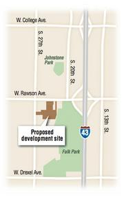 The proposed 8,000-square-foot medical office building would be located off of South 27th Street in Oak Creek.
