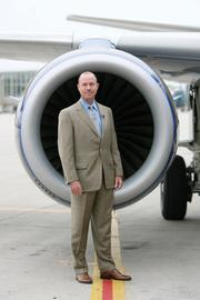 Bryan Bedford, CEO and president of Republic Airways Holdings Inc., Frontier's parent company.