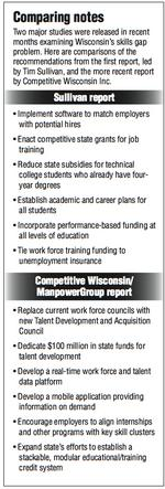 Study adds solutions to state's skills gap