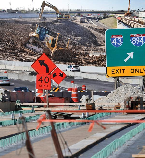 Contractors rebuilding Interstate 94 paint a grim economic picture of a world without the massive freeway project. See photo gallery for a complete list of contractors.