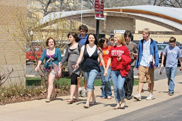 Edgewood has been named to the President's Honor Roll for Community Service and is one of the first colleges to be accepted into Wisconsin's Green Tier.